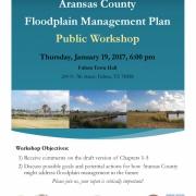 Floodplain Management Plan - Public Workshop on January 19